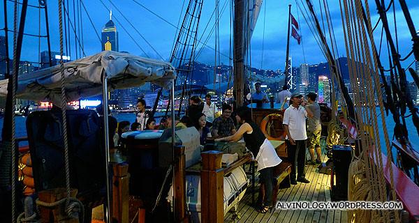 On board the Bounty