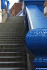 To the Tower Bridge! (LuckMaster) Tags: uk greatbritain bridge england tower towerbridge blauw dof unitedkingdom britain united great kingdom depthoffield trap catchycolorsblue scherptediepte luckymartijn