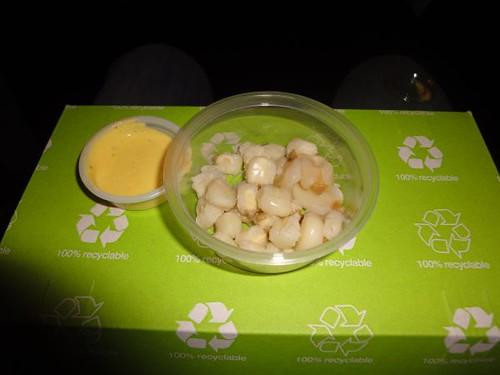 Andean corns w/ huancaina sauce