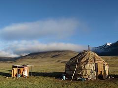 Yurt at Kara-Jilga