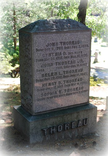 The Thoreau Family Gravestone