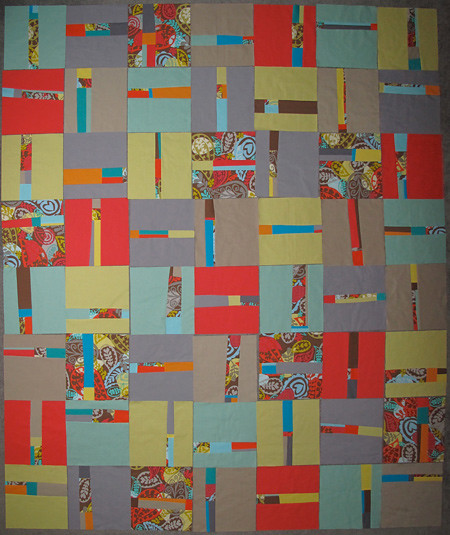 Final Layout for Not So Straight and Narrow quilt