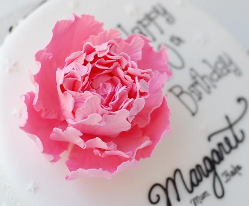 Margaret's Birthday cake - peony