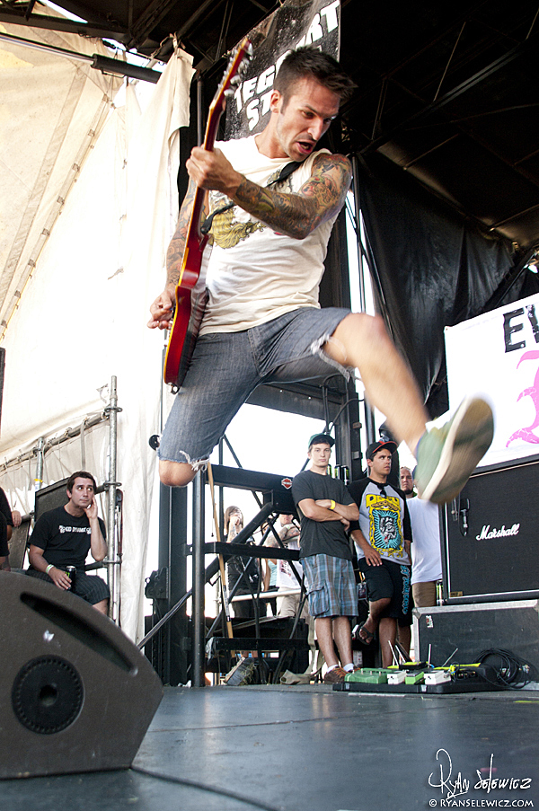 Every Time I Die - Warped Tour 2010
