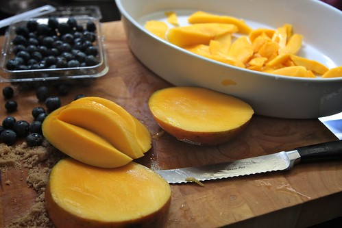 mango slicing