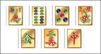 free Mah Jong Madness slot game symbols