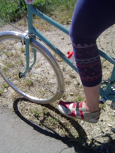 Rockin' cycle chic on the trail