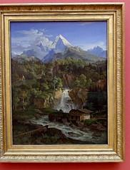Der Watzmann von Ludwig Richter