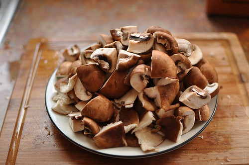 delicious mushrooms