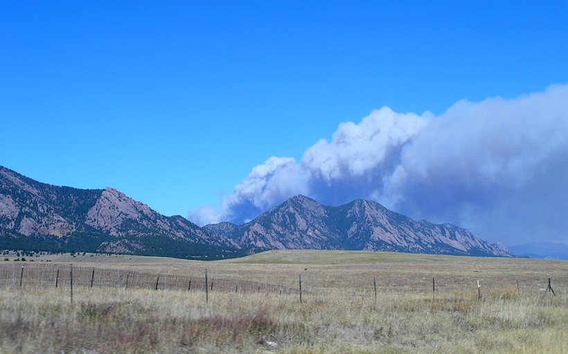 Four Mile Canyon fire