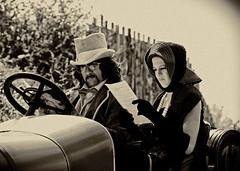 Viaggio nel tempo (federicodettoghigo) Tags: persone monocromia autodepoca sfilata abigfave canoneos50d radunodepoca federicodettoghigo