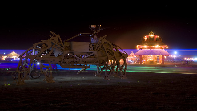 Burning Man 2010 - Metropolis: The Walking Beast at  MUSE