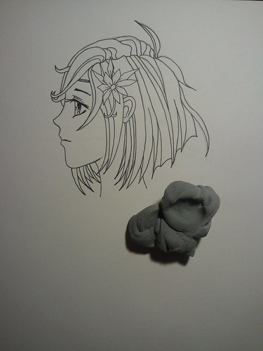 Manga Girl Profile - Step 5 - Time to Erase
