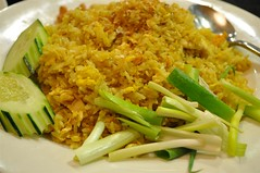 Chicken curry powder Fried Rice