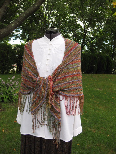 Boneyard Summer Garden Shawl