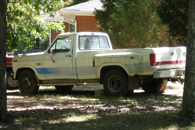 ford truck pickup 1986 1980 f350 dually