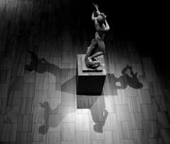 Shadow Accompaniment (JTContinental) Tags: jtcontinental newyork urban metropolitanmuseumofart met citylife blackandwhite light shadow challengeyouwinner herowinner fotocompetition fotocompetitionbronze tphofweek201 thepinnaclehof