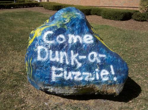 Alpha Xi Delta Dunk a Fuzzie Rock