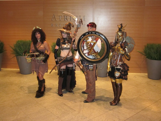 Steampunk Wizard of Oz at DragonCon 2010