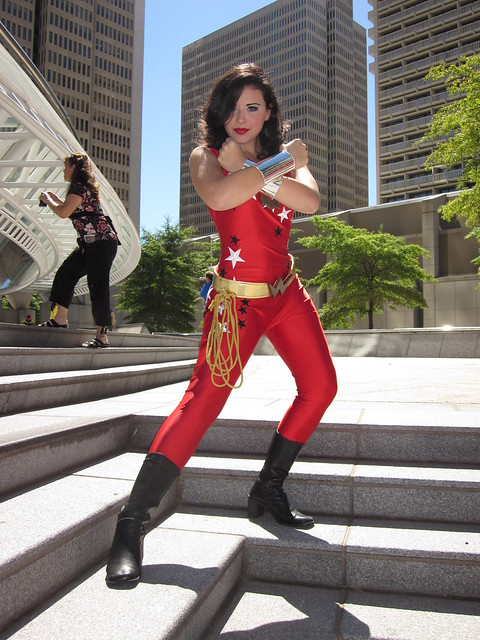 Wonder Girl at DragonCon 2010