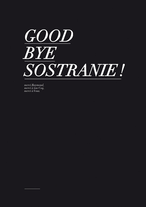 good bye © Emilie Vasset