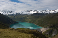 Barrage et le Lac de Moiry Photo