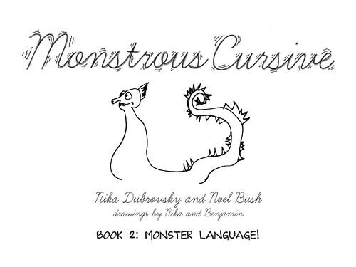 Monstrous Cursive Book 2 cover