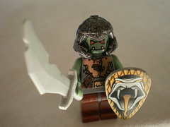 Lord of the Rings Custom Lego Orc of Mordor
