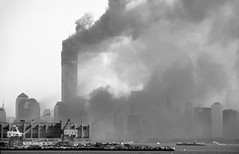 Towers agony (Adam Nowak) Tags: ny newyork tower smoke worldtradecenter 911 agony burning wtc
