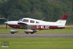 G-WLGC - 28-43484 - Private - Piper PA-28 181 Archer III - Duxford - 100905 - Steven Gray - IMG_9031