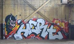 Hert 2010 666 (break.things) Tags: nyc newyorkcity ny newyork abandoned graffiti 666 queens f5 2010 hert