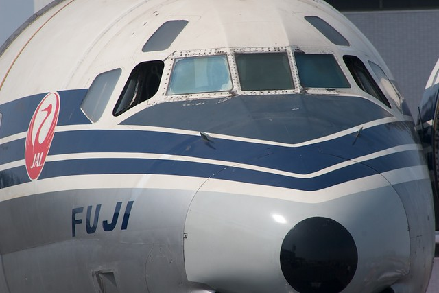 JAL DC-8-32 FUJI
