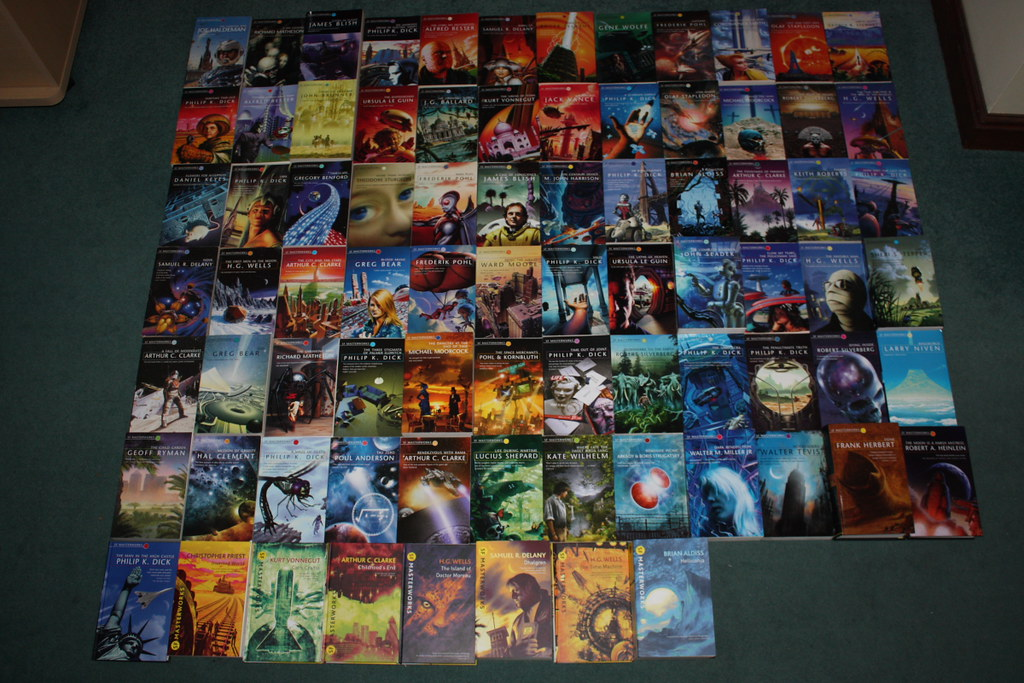 Sci-Fi Masterworks Books (complete)