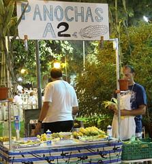 Murcia en Fiestas. 8 (Catalina Gracia Saavedra) Tags: españa canon spain corn murcia 7d jardínbotánico corncobs maíz mazorcas panochas morosycristianos2010 feriadeseptiembre2010murcia huertos2010murcia