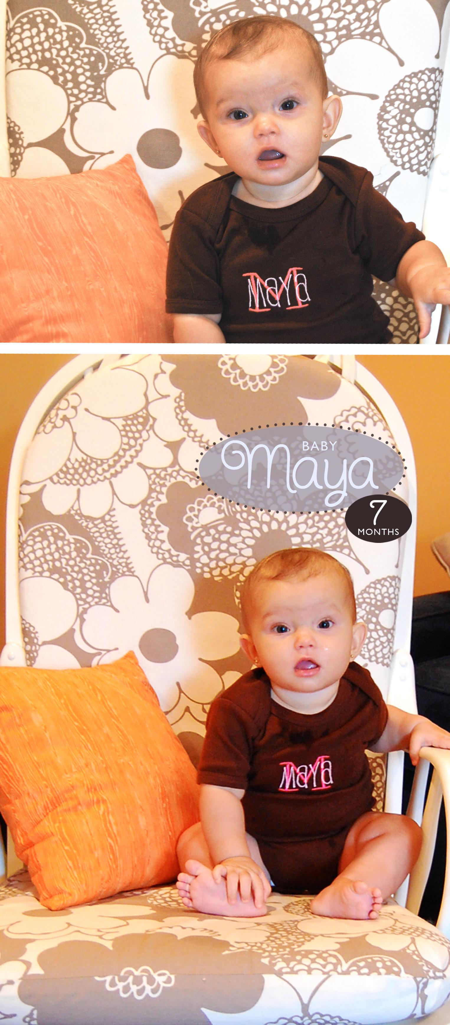 Maya 7 Months