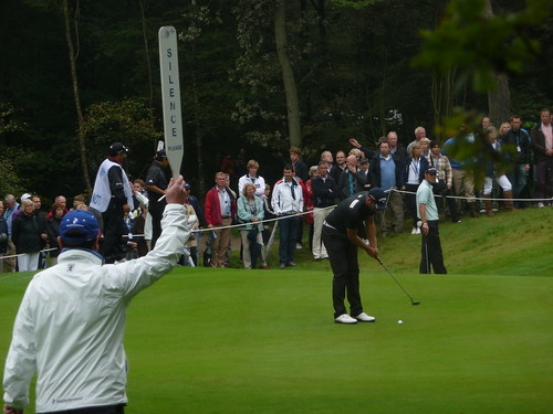 Nilsson (#2 in final standings) putting