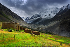 Remote Village.. (M Atif Saeed) Tags: pakistan mountain mountains nature landscape areas northern northernareas atifsaeed gettyimagespakistanq1