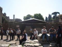 Rome (Venture Minimalists) Tags: italy rome europe tomb eu ceasar juliusceasar
