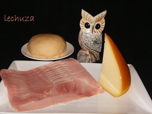 Empanadillas de lacón y San Simón-ingrs.