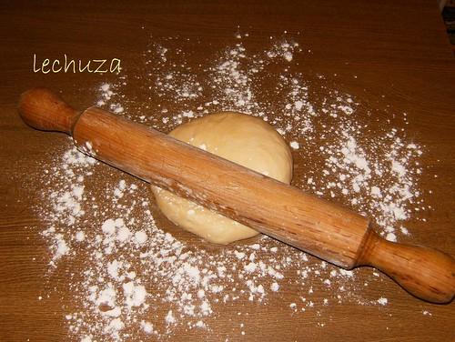 Empanadillas de lacón y San Simón-masa