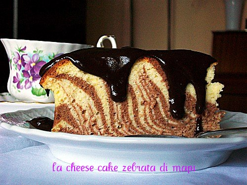 Cheesecake Zebrata mapi