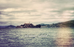 Alcatraz Island (isayx3) Tags: film water clouds vintage island grey bay nikon 85mm retro lightleak alcatraz therock nikkor f18 studios hdr d3 sanfransisco plainjoe isayx3 hipstamatic plainjoephotoblogcom