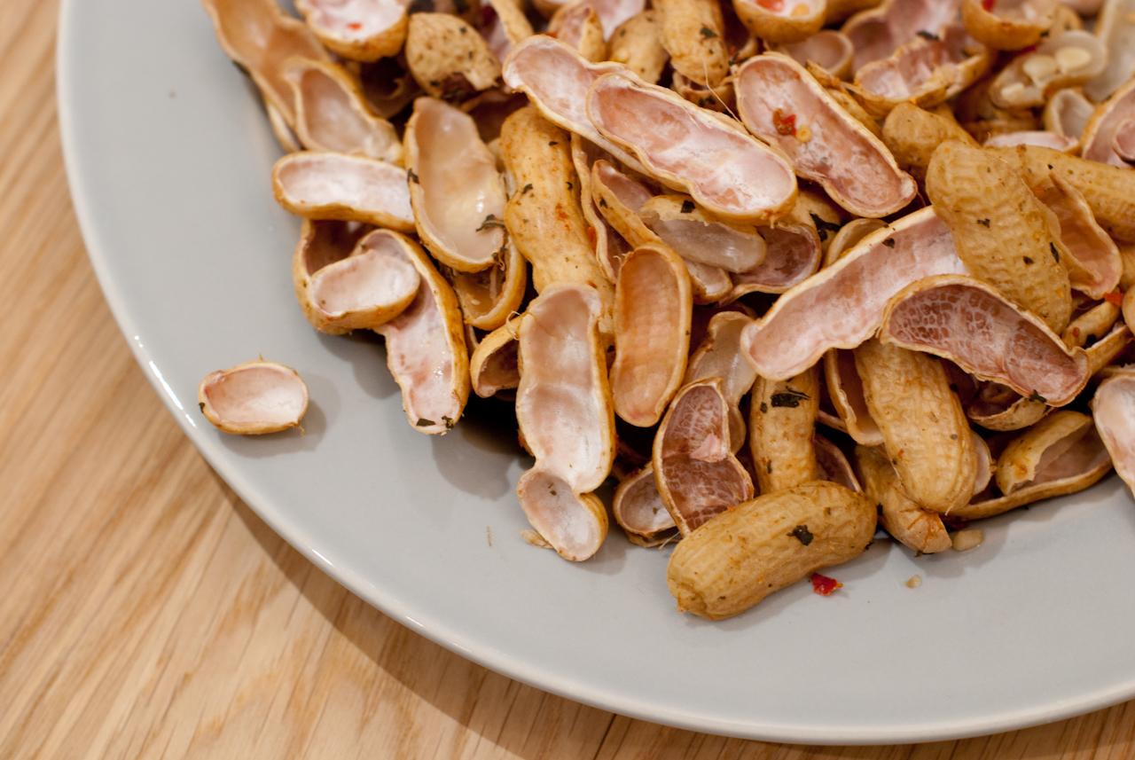 Peanut Shells!