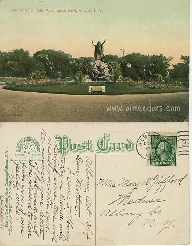 King Fountain Albany NY