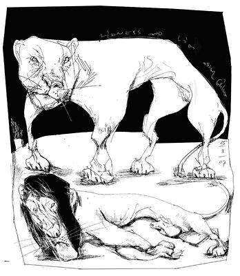 La fábula del león y la gacela
