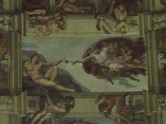 rome_782 (OurTravelPics.com) Tags: vatican rome adam chapel ceiling creation museums fresco sistine the