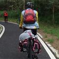 交大單車客 背著小白豚旅行