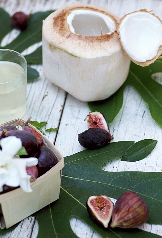 Coconut Fig Prep