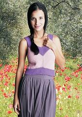 Blusa Primavera, criação Beatriz Medina