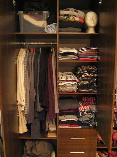 organized closet 1